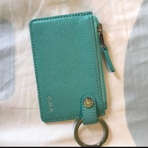 """Tiffany & Co """"CMR"""" Leather Wallet"""